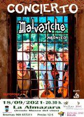 Este sábado Malvariche presenta 'Abonico' en Bullas