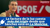 El PP pedirá en el Pleno del próximo que el Gobierno del socialista Pedro Sánchez baje el recibo de la luz