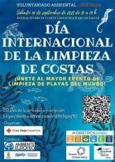 Fin de semana medioambiental, para los voluntarios de Cruz Roja de Águilas