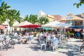 Fin de semana de oktobertfest en la plaza toneleros de Puerto de Mazarrón