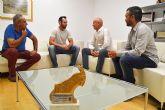 Recepción oficial al torreño Joaquín Conesa, campeón de España de BTT de la Policía Local