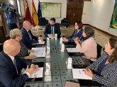 López Miras se reúne con el presidente del Cermi