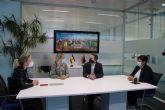 Martínez Vidal visita Torre Pacheco para conocer la situación del comercio e informar de las ayudas puestas en marcha por la crisis sanitaria