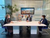 El Alcalde de Torre Pacheco recibe a la Consejera de Empresa, Industria y Portavocía