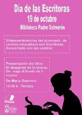 La Biblioteca Padre Salmerón celebrará el Día de las Escritoras