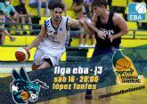 LIGA EBA   La Salud Archena y Sercomosa Molina Basket miden fuerzas en la tercera jornada