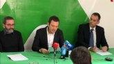 Rueda de prensa de presentación de VOX Cartagena