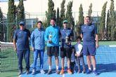 Francisco Periago, campeón del torneo de tenis 'Fiestas de Puerto Lumbreras'