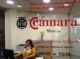 La Delegación de la Cámara Oficial de Comercio en Molina de Segura cumple cien días de andadura con un notable éxito en su actividad