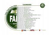 Disponible reglamento y calendario Trail Tour FAMU 2020
