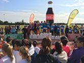 El polideportivo acogió la final municipal 'Campo a través' del programa Deporte en Edad Escolar 16-17