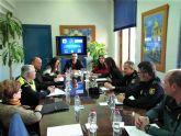 La Junta Local de Seguridad se reunió en Alcantarilla, operativo especiales en la Navidad