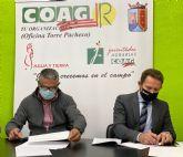 El Ayuntamiento de Torre Pacheco renueva convenio de colaboración con la Asociación de Agricultores y Ganaderos de Torre Pacheco, COAG