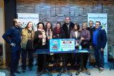 Sacramento Sánchez, ganadora de los 4.000 euros de la campaña navideña del 'Área Comercial Las Torres'