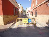 Se inician las obras de renovación de la red y acometidas de alcantarillado en el Callejón de la calle Valle del Guadalentín y calle Extremadura