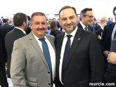 El alcalde de Totana asiste al acto inaugural del nuevo aeropuerto internacional de la Regi�n de Murcia, en Corvera; que ya opera a distintas ciudades europeas