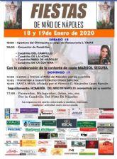 Puerto Lumbreras acogerá el próximo fin de semana las fiestas del Niño de Nápoles