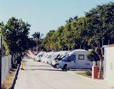 Lorquí acogió a más de un centenar de autocaravanas este fin de semana