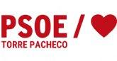 'El PSOE de Torre Pacheco pide a López Miras un plan de ayudas urgentes para la hostelería'
