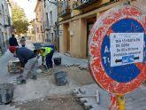 El Ayuntamiento de Caravaca culmina una serie de obras de renovación de espacios públicos por un importe de 60.000 euros para garantizar un mejor servicio a los vecinos