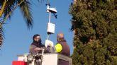 El Ayuntamiento instala un nuevo sistema para analizar la calidad del aire en el núcleo urbano de Alcantarilla