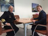 El Delegado de Defensa en la Región de Murcia se reúne con el alcalde de Torre-Pacheco