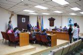 Alumnos del colegio Sierra Espuña visitan el Ayuntamiento