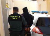La Guardia Civil localiza y detiene a un vecino de Albudeite reclamado por cinco autoridades judiciales
