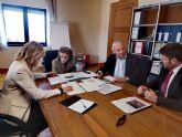 La Alcaldesa de Molina de Segura se reúne con la responsable de obras del Ministerio de Justicia para avanzar en la construcción prioritaria de una nueva sede para el Palacio de Justicia