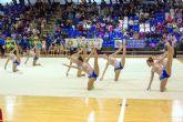 El Pabellón Municipal acoge la XXXIX Competición de Gimnasia Rítmica