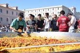 Miles de estudiantes de la UPCT en las paellas de San José 2019