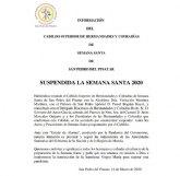 Suspendida la Semana Santa de San Pedro del Pinatar