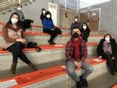 Los alumnos del PMEF Atención Sociosanitaria a Personas Dependientes en Instituciones Sociales reciben la vacuna para iniciar su formación práctica