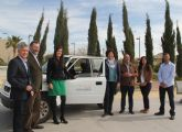 La Comunidad Autónoma cede un vehículo al Ayuntamiento de Puerto Lumbreras