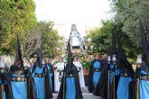 La Virgen de La Soledad toma las calles de San Pedro del Pinatar en la penúltima procesión de la Semana Santa