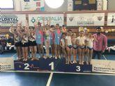 Las benjaminas lumbrerenses de gimnasia rítmica, primeras LIGA1 por equipos