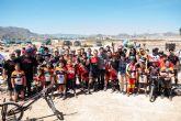 Medio centenar de ciclistas compite en el campeonato de trial de Mazarrón