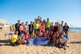 La liga de vóley playa regresa a Mazarrón  con un centenar de participantes