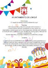 El Ayuntamiento de Lorquí organizará una gran fiesta de cumpleaños para los niños y niñas que no hayan podido celebrarlo
