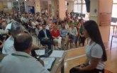 Encuentro entre mayores y personas con discapacidad para conmemorar el Día Internacional de la Familia en San Javier