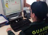 La Guardia Civil investiga a una vecina de Beniel por simular ser víctima de varias estafas bancarias