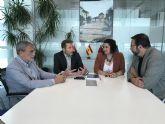 El Alcalde y la Concejala de Servicios Sociales se reúnen con el Director Gerente del Servicio Murciano de Salud y el Director Gerente del Área VIII Mar Menor