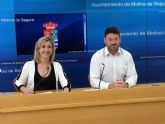 El presupuesto del Ayuntamiento de Molina de Segura para el año 2019 es de 63.363.001 euros, un 5,24% más elevado que el año anterior