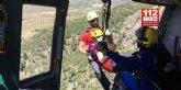Rescatan a una senderista en la Sierra de Salinas, Yecla