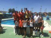 Aidemar celebró su II Torneo de Natación en el polideportivo municipal de San Javier