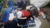 La Guardia Civil detiene a una persona con más de 500 productos falsificados