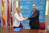 El Ayuntamiento de Campos del Río firma convenio con la UPCT
