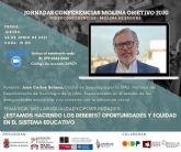 La Concejalía de Participación Ciudadana de Molina de Segura inicia las III Jornadas online Molina Objetivo 2030 con la videoconferencia de Juan Carlos Solano el jueves 24 de junio
