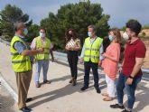 Fomento refuerza la protección de la carretera de la pedanía jumillana de La Celia danada por la dana gracias a una inversión de más de 162.000 euros