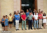 Se guarda un minuto de silencio a las puertas del Ayuntamiento por las víctimas del atentado terrorista de Niza
